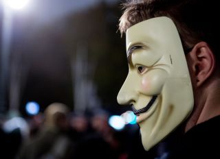 Hacktivist Collective Anonymous Hold Their Annual Million Mask March