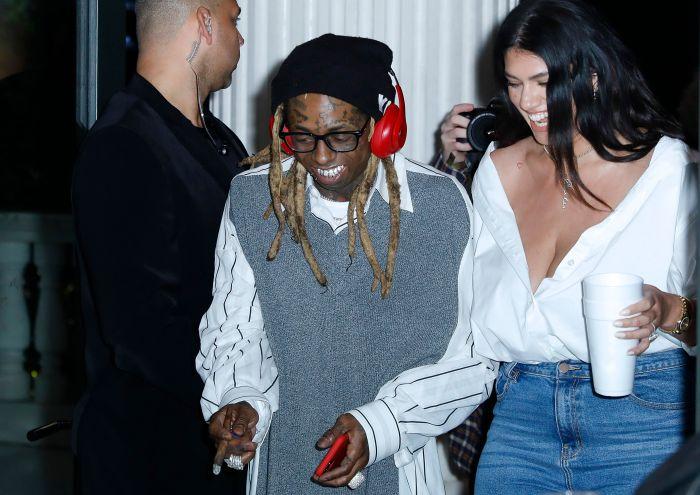 Lil Wayne & Fiance La'Tecia Thomas