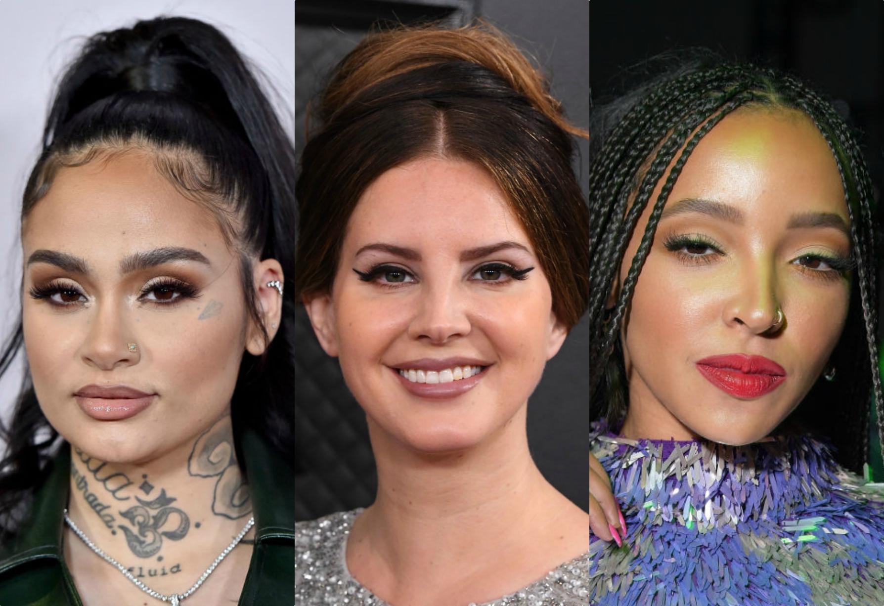Lana Del ray, Kehlani, Tinashe