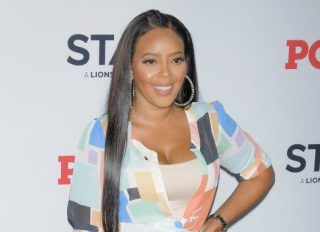 Angela Simmons attends the Power Final Season Premiere held...