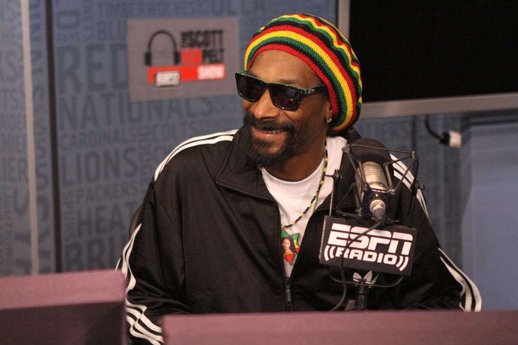 Snoop Dogg Visiting ESPN