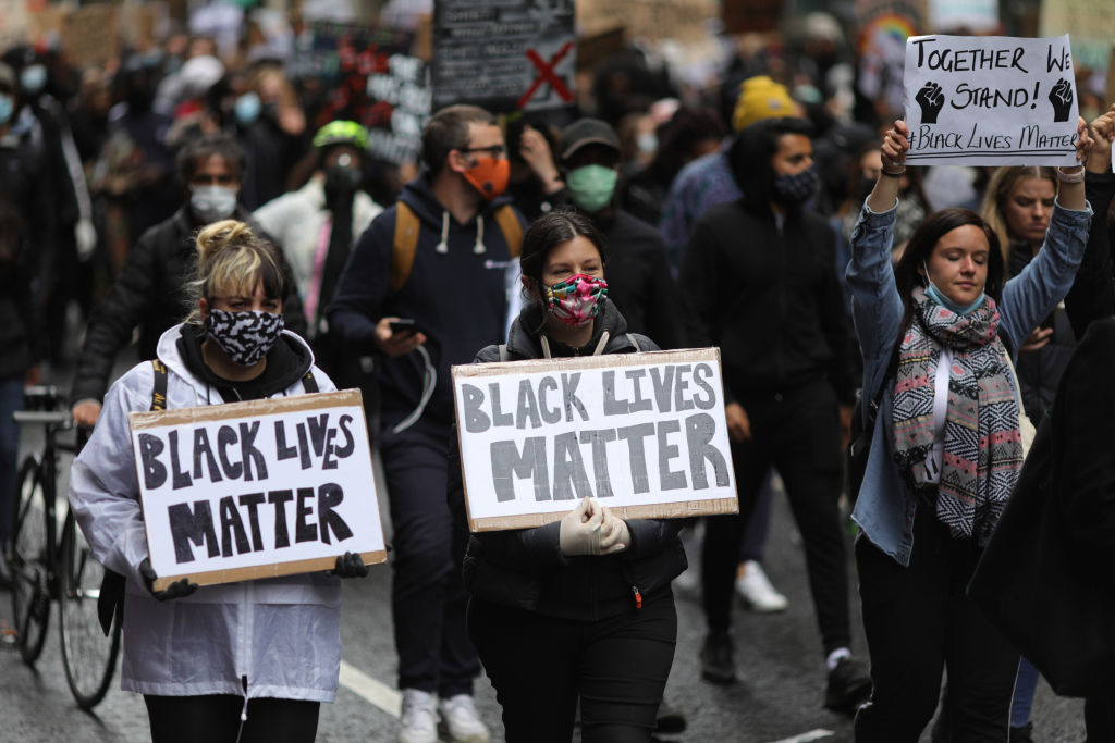 BRITAIN-LONDON-BLACK LIVES MATTER-PROTEST