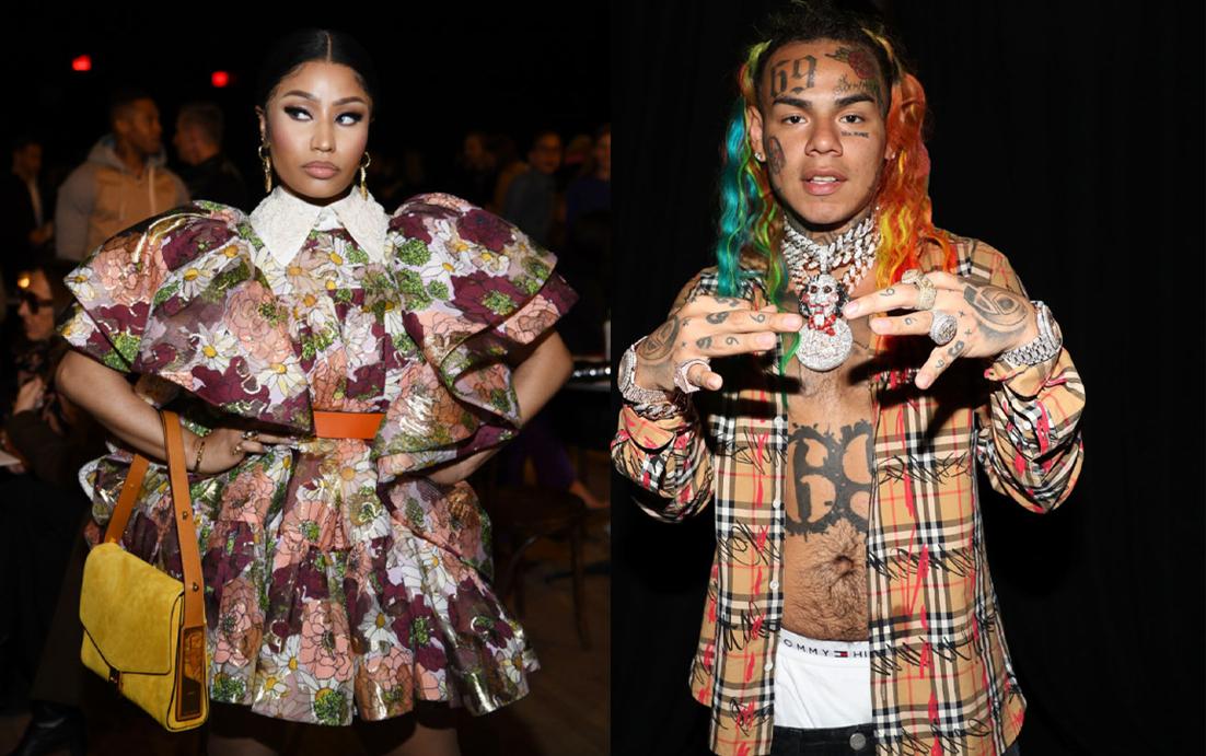 Nicki Minaj and Tekashi 6ix9ine