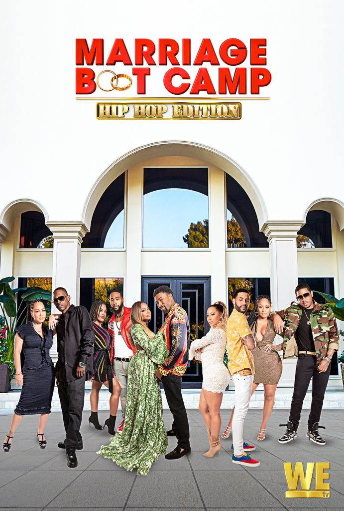 Marriage Boot Camp Hip Hop Edition Key Art