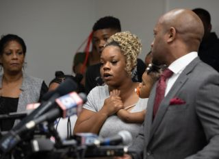 Family Of Rayshard Brooks Speak To The Media In Atlanta