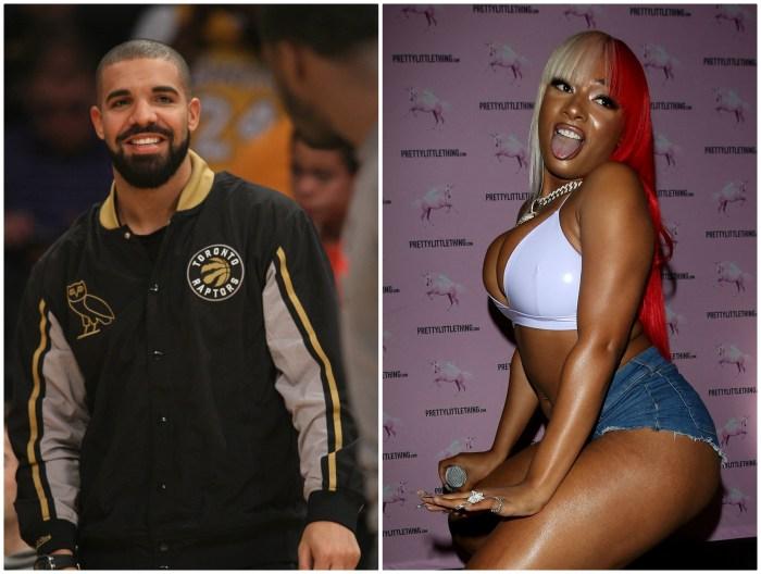 Drake and Megan The Stallion