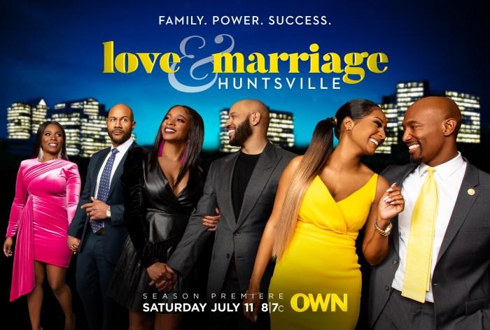 Love & Marriage: Huntsville Key Art