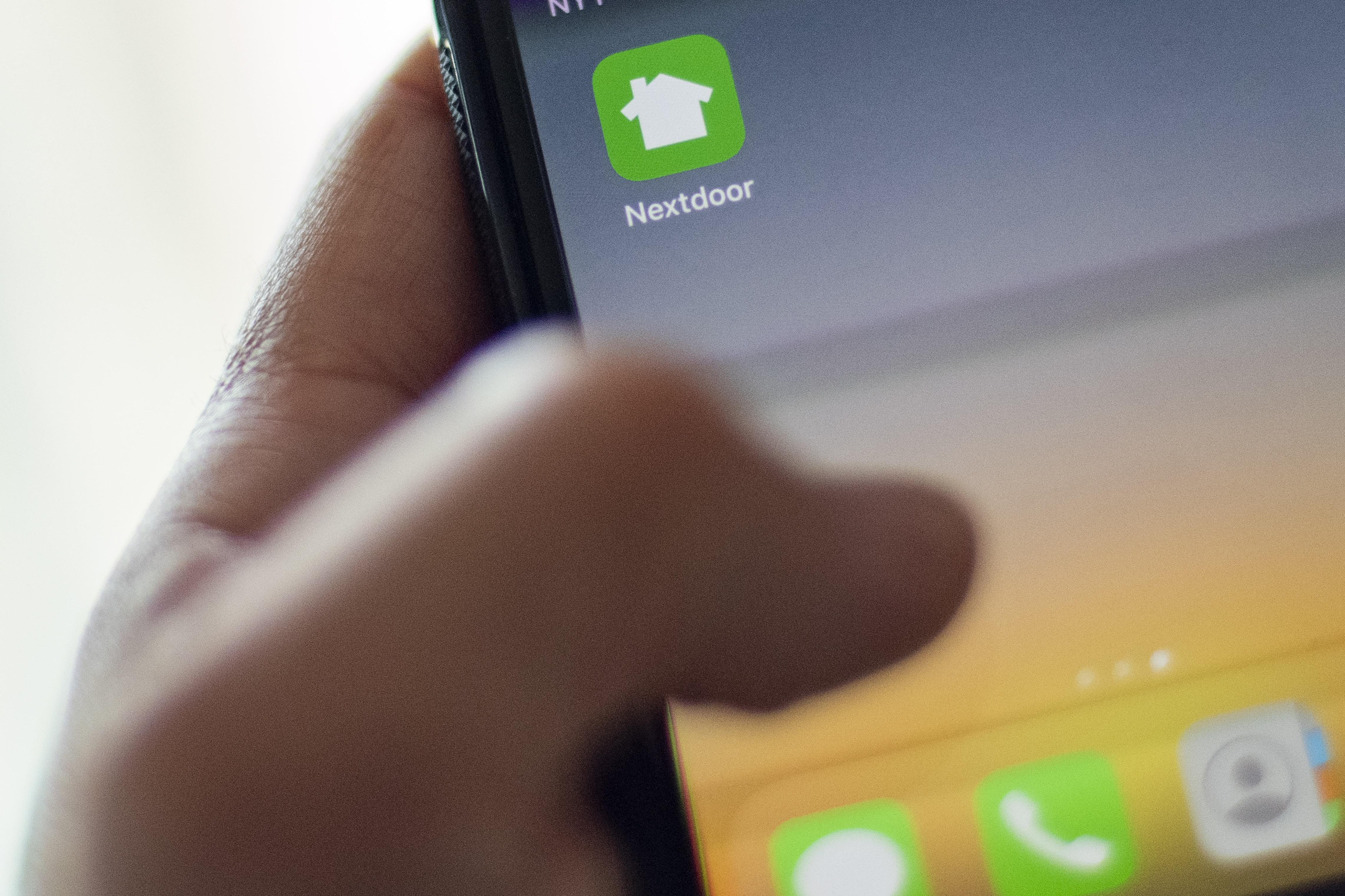 Nextdoor app default pic