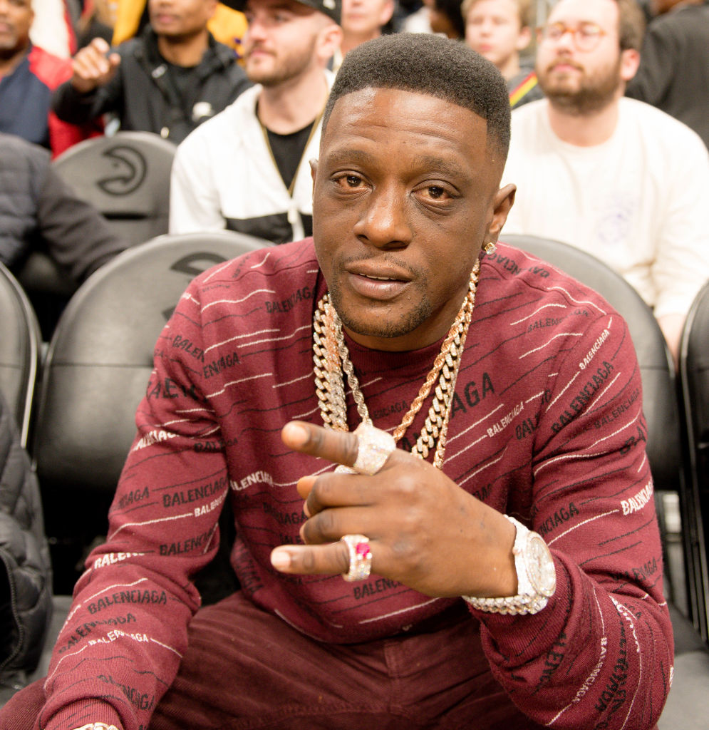 Celebrities Attend New Jersey Nets vs Atlanta Hawks
