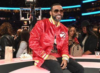 Celebrities Attend Portland Trailblazers vs Atlanta Hawks