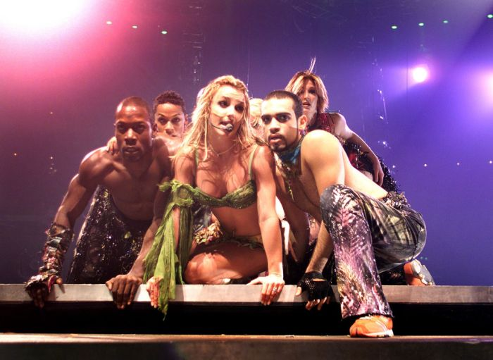 Britney Spears peforms in Florida