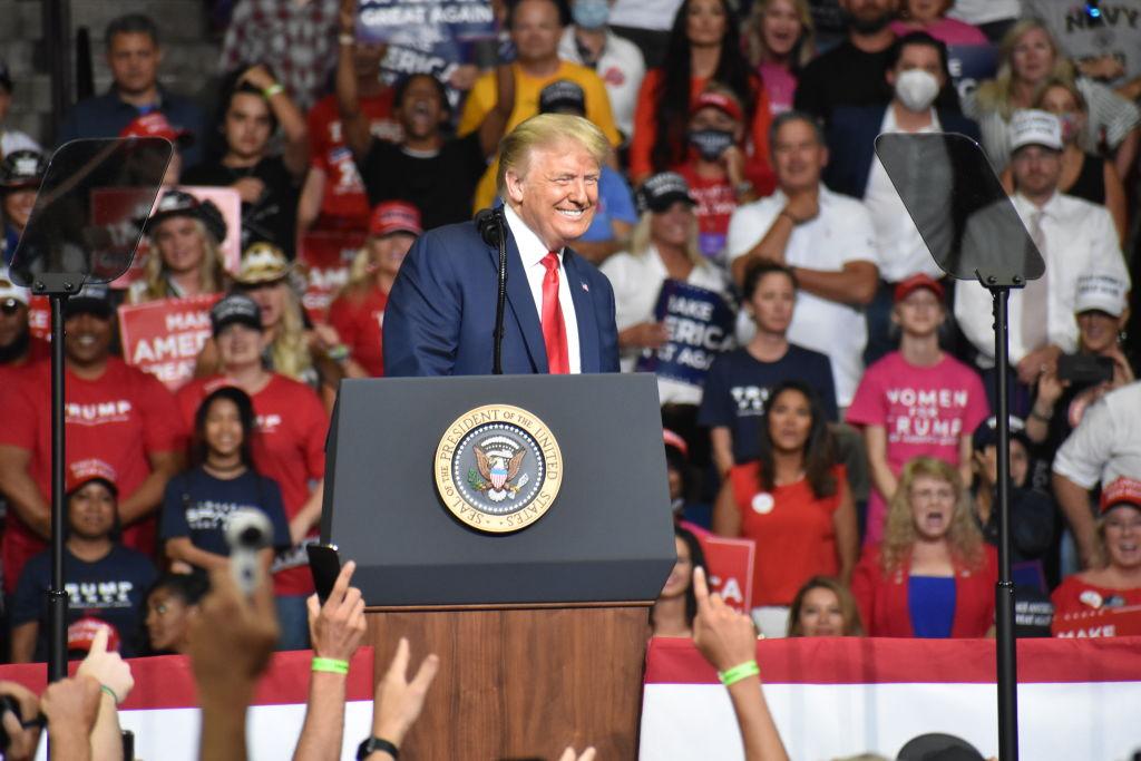 U.S. President Trump holds rally in Tulsa, Oklahoma