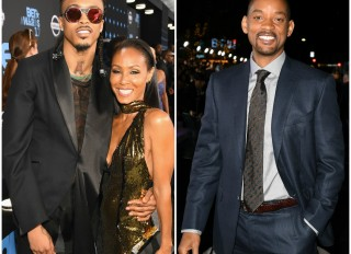 August Alsina Jada Pinkett Smith Will Smith