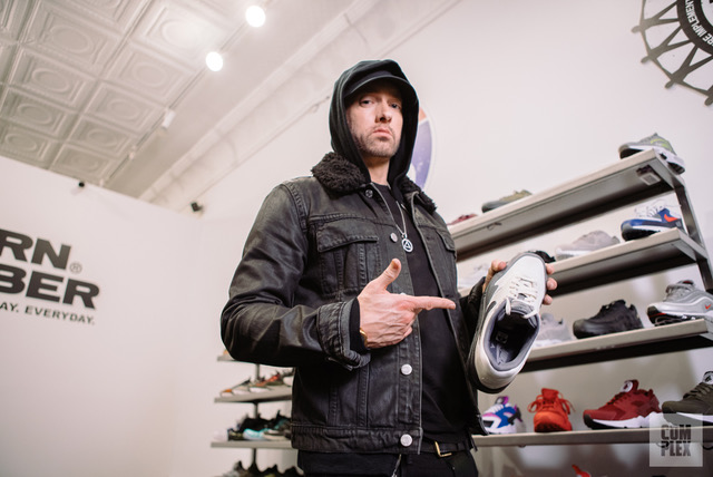 Eminem Sneaker Shopping with Complex
