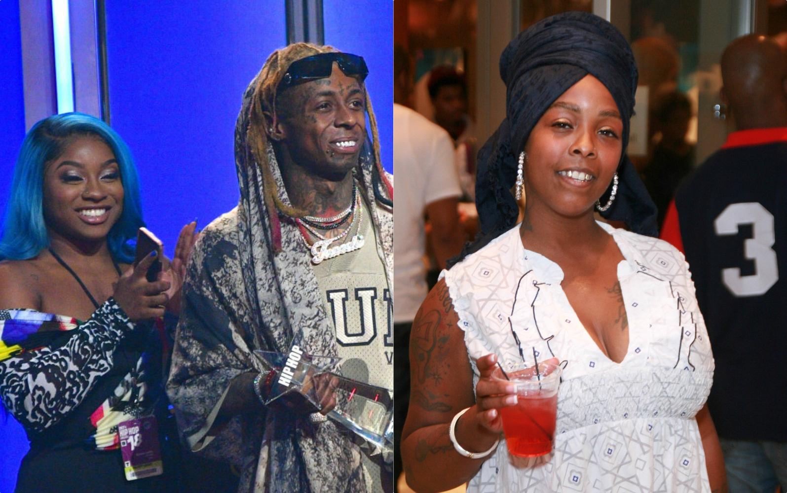 Reginae Carter, Lil Wayne, Khia