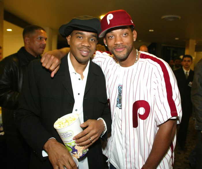 Duane Martin and Will Smith