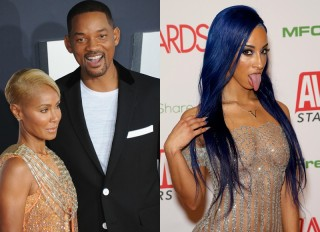 Will Smith Jada Pinkett Teanna Trump