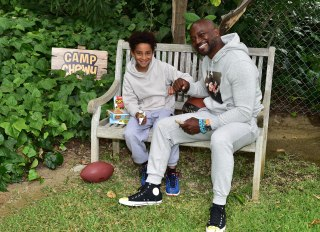 Taye Diggs and son, Walker, for Quaker Chewy