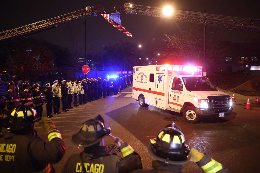 Gunman in Chicago hospital attack had threatened to shoot up Chicago Fire Academy, officials say
