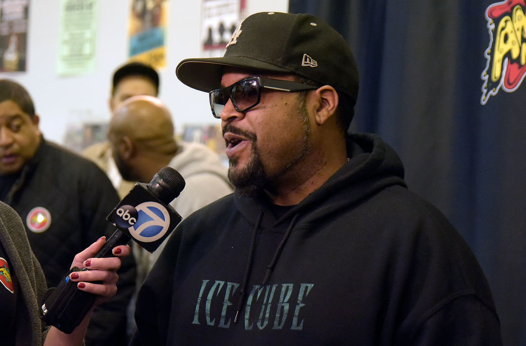 "Rapper Ice Cube Hosts Meet & Greet For His New CD ""Everythangs Corrupt"""