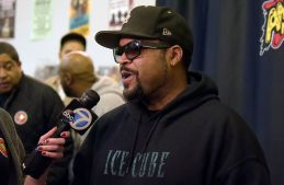 """Rapper Ice Cube Hosts Meet & Greet For His New CD """"Everythangs Corrupt"""""""