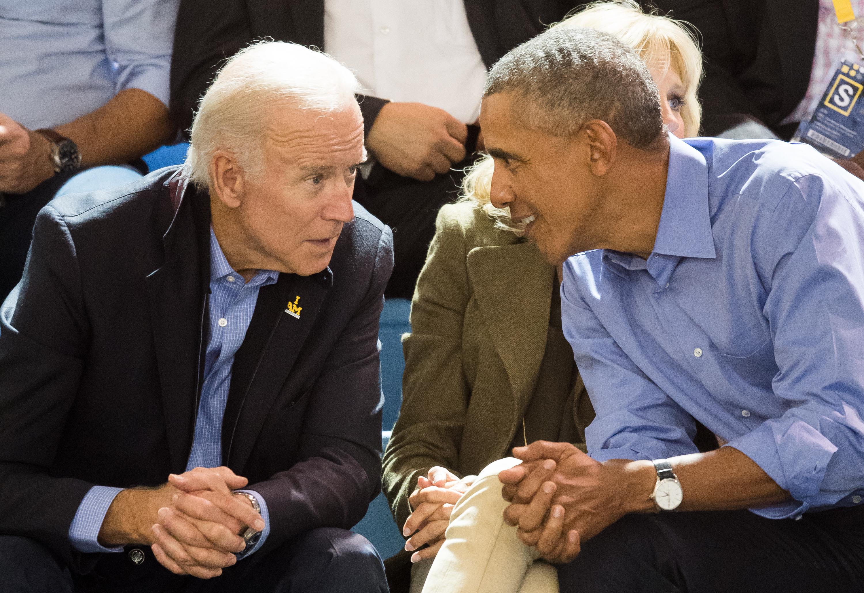 Joe Biden & Barack Obama