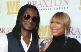 Tamar Braxton and David Adefeso