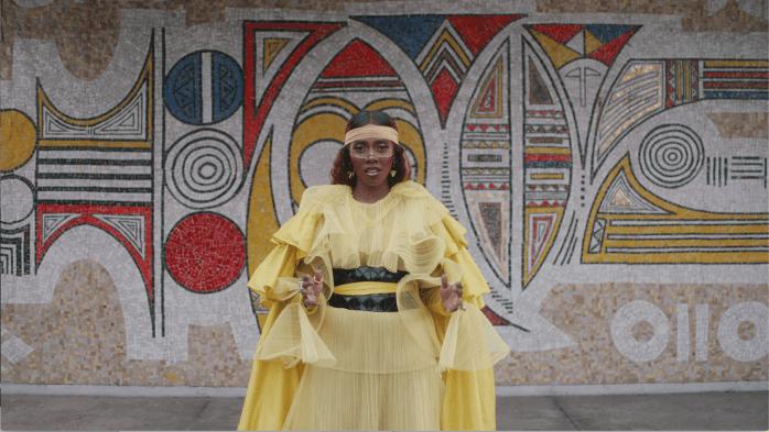 Tiwa Savage in Keys To The Kingdom from Beyonce's Visual Album Black is King on Disney +
