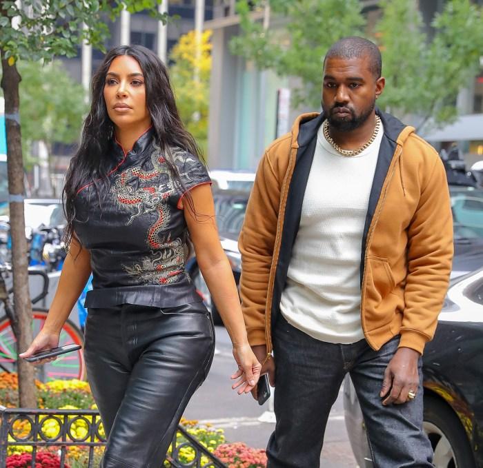 Kim Kardashian West Kanye West