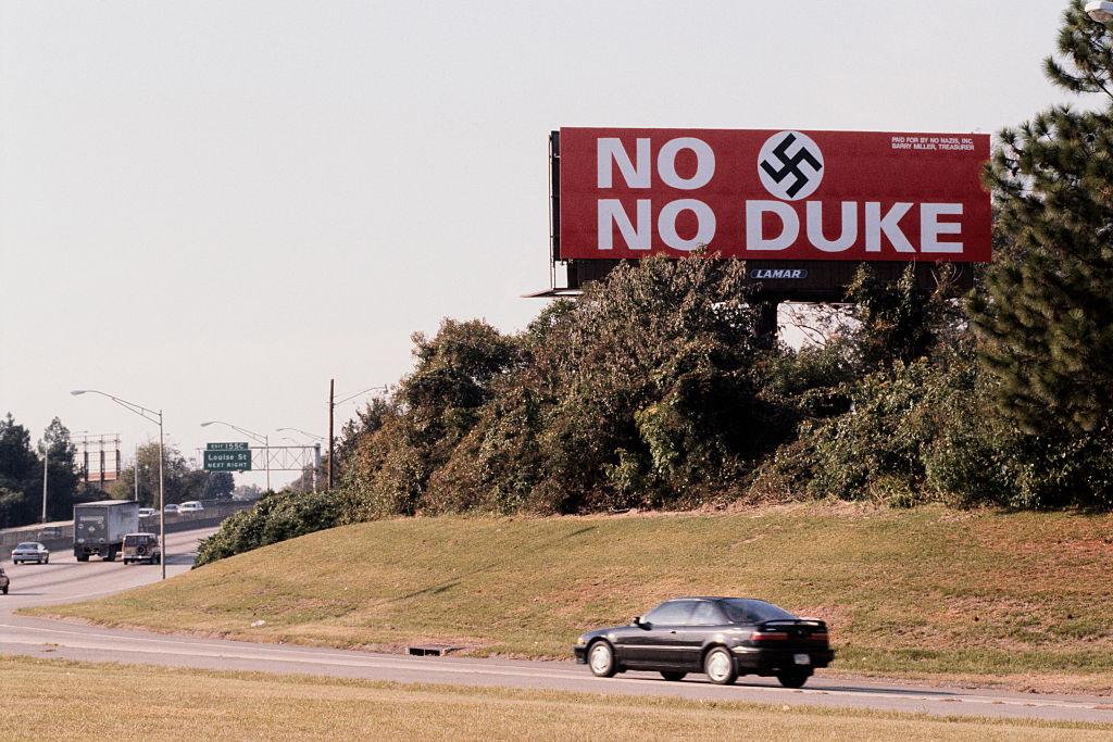 White Nationalist David Duke Campaigns