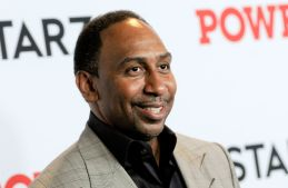 Stephen A. Smith attends the Power Final Season Premiere...