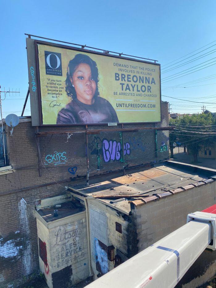 Breonna Taylor Billboards