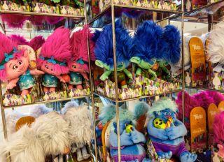 Miami, Aventura Mall, Macy's, DreamWorks Trolls Movie Merchandise Display
