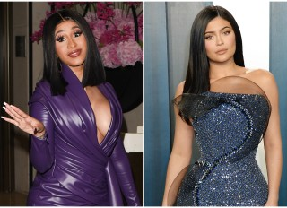 Cardi B and Kylie Jenner