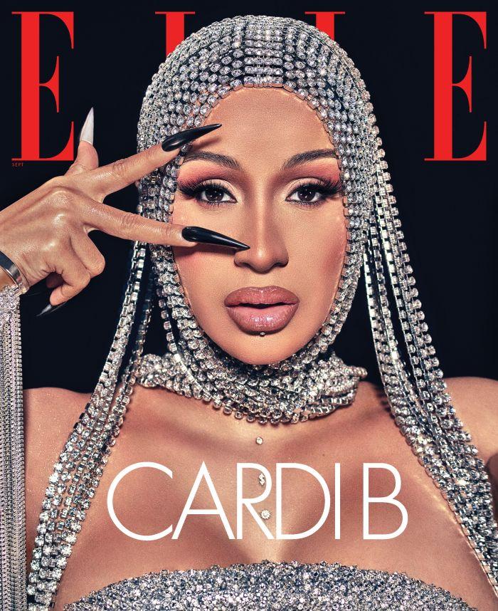 ELLE Cardi B September Issue