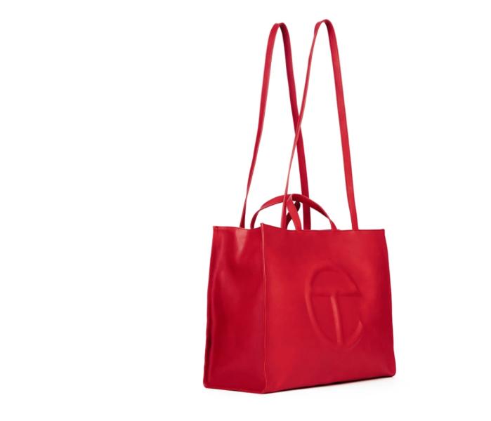 Telfar Large Red Shopping Bag
