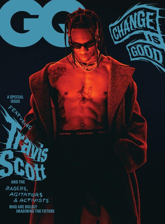 Travis Scott September 2020 GQ Magazine