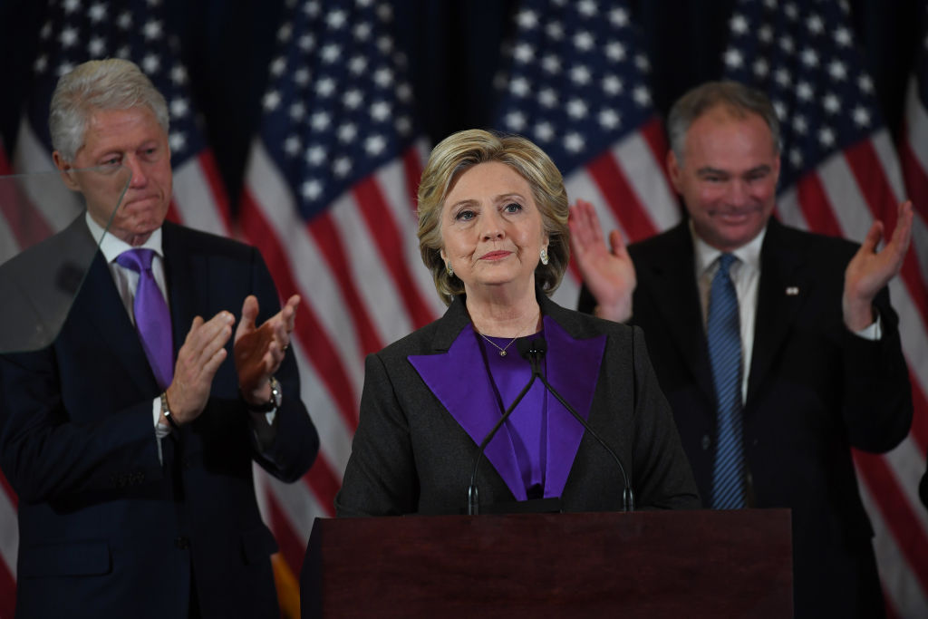 Hillary Clinton Press Conference - New York, NY