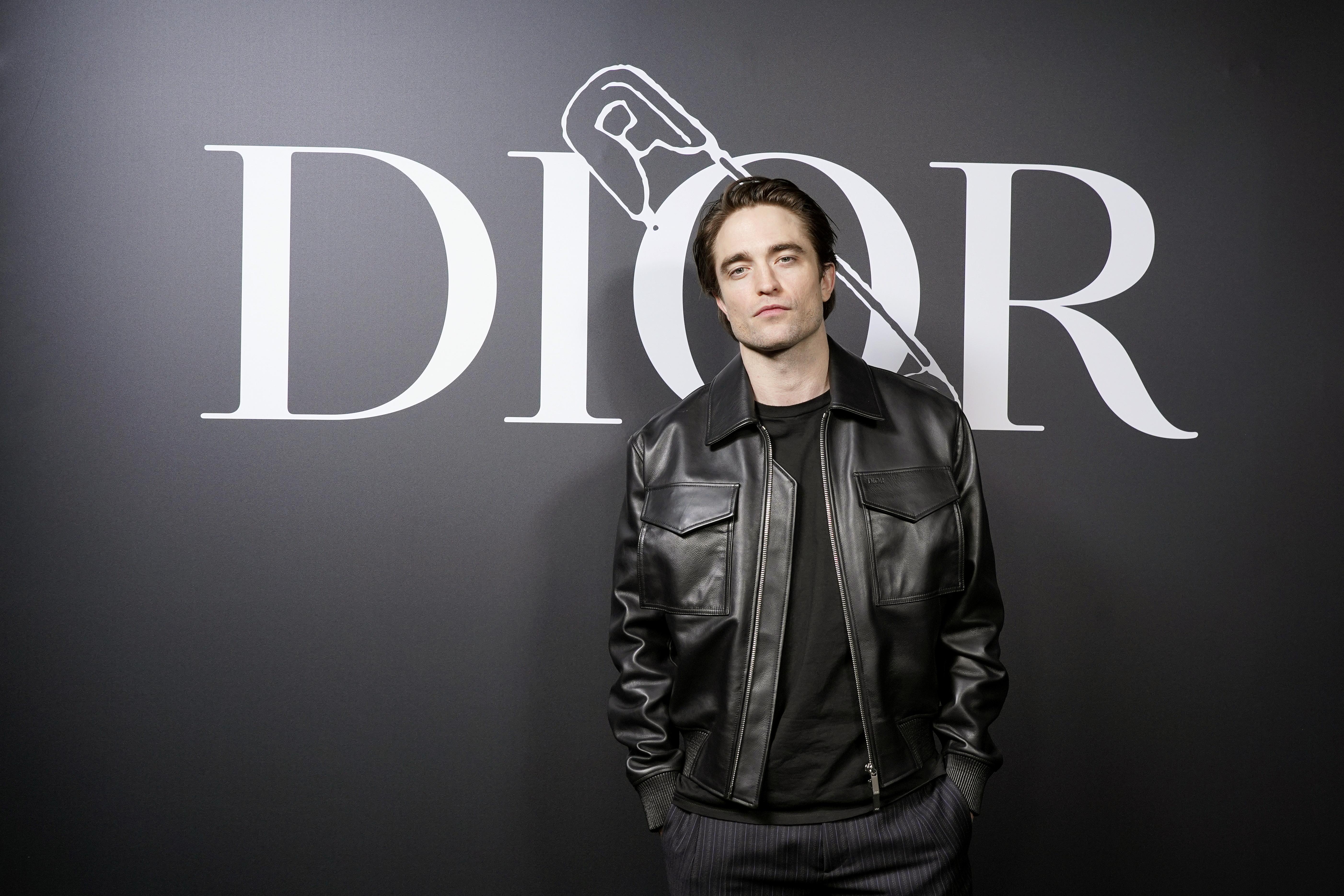 Robert Pattinson Dior Fashion Week 2020