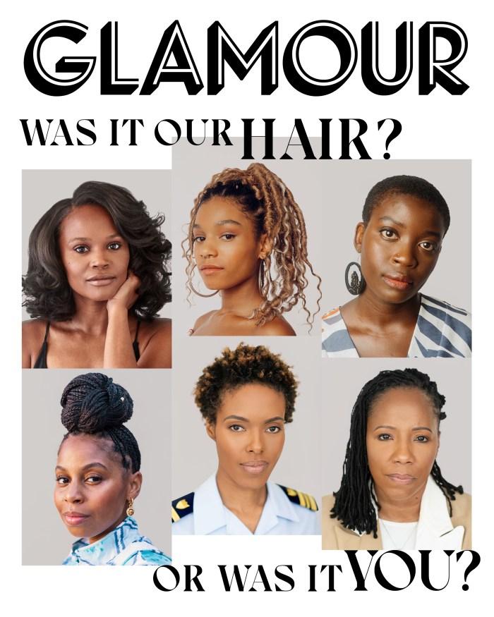 Glamour Magazine September Black Hair Issue