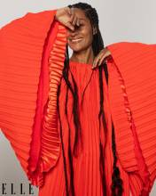 Tracee Ellis Ross covers ELLE Magazine State of Black Beauty Issue