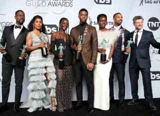 Chadwick Boseman & The Cast Of Black Panther