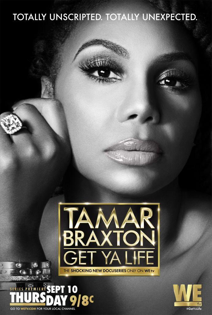 Tamar Braxton: Get Ya Life Key Art