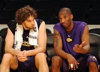 Pau Gasol & Kobe Bryant