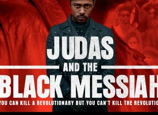 Judas & The Black Messiah Poster featuring Daniel Kaluuya as Fred Hampton and Lakeith Stanfield as William O'Neal