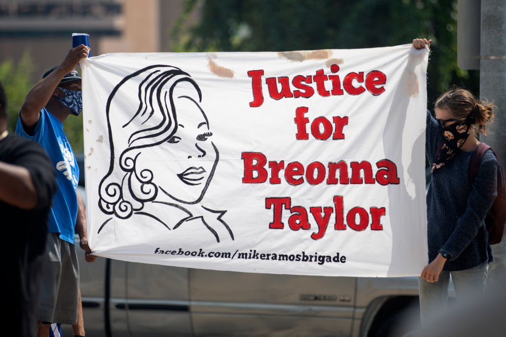 """STAND 4 Breonna Taylor"" March Held In Austin, Texas"