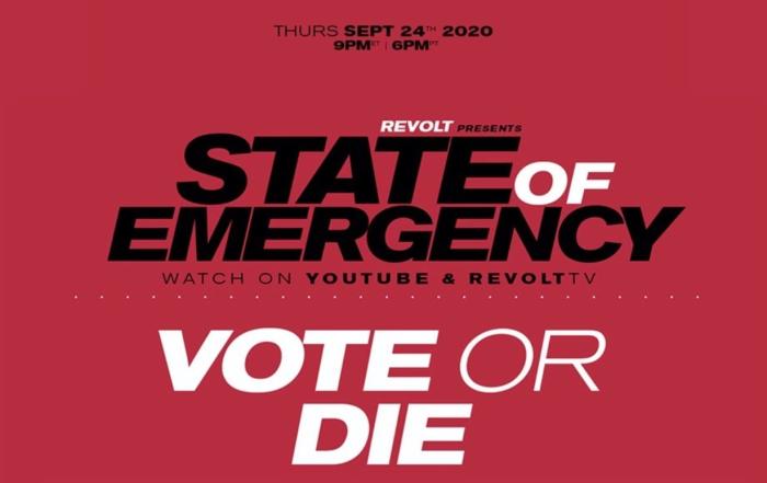 Revolt State Of Emergency key art