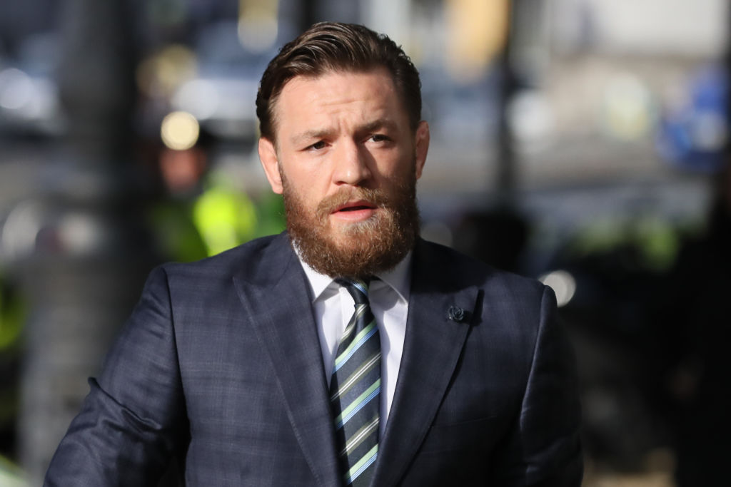 Conor McGregor court case