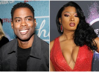 Chris Rock and Megan Thee Stallion