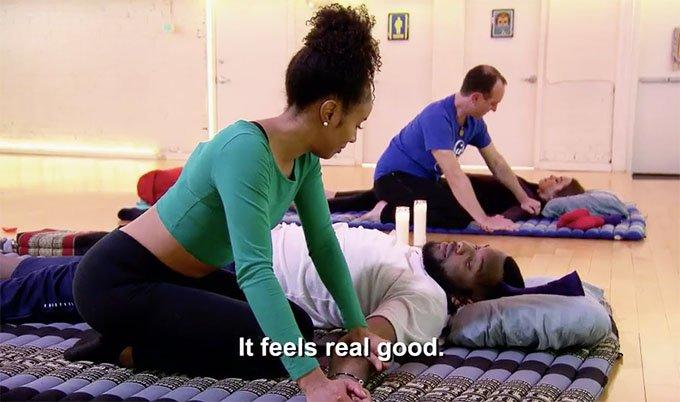 Miles and Karen Massage MAFS